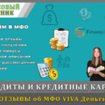 vivadengi онлайн заявка на кредит на карту за 5 минут