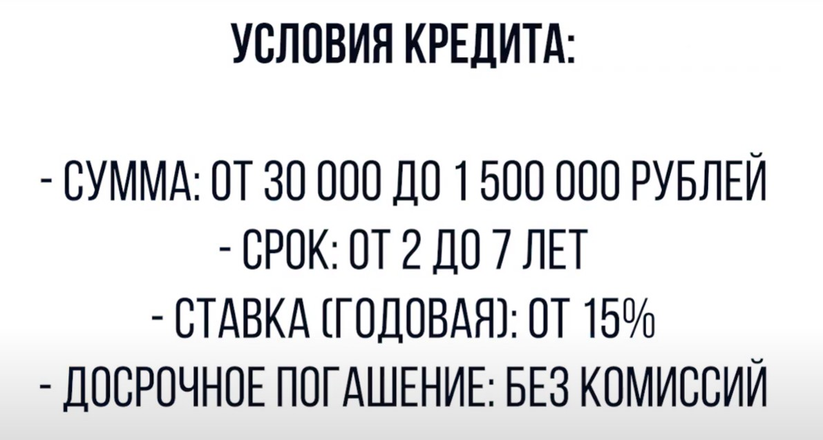 Рефинансирование кредита какой банк выгодней: УБРИР условия кредита